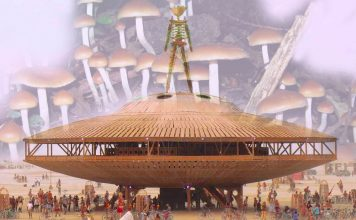 psychedelic burning man