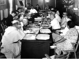 Parapsychology and Psychedelics Conference at Eileen Garrett's retreat in La Piol, France, 1959